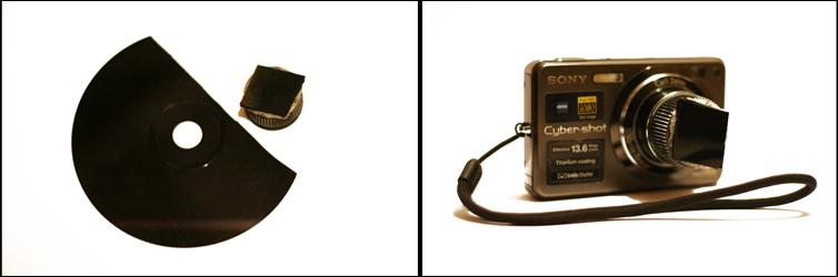 Инфракрасный фильтр своими руками из диска на мыльницу