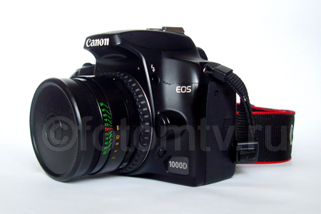 Объектив для фотоаппарата своими руками